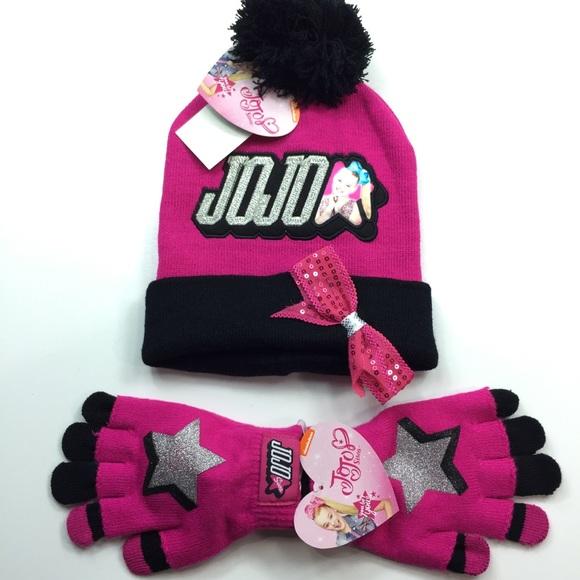 Jojo Siwa Winter Cap and Gloves Bundle 35c6804c3689